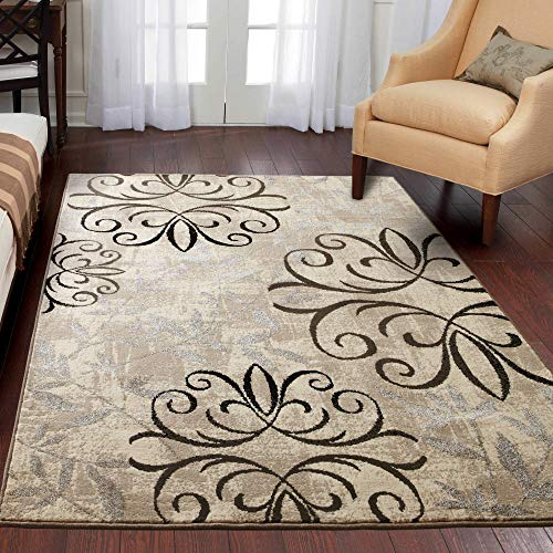 Better Homes and Gardens Iron Fleur 3-Piece Area Rug Set from Better Homes and Gardens