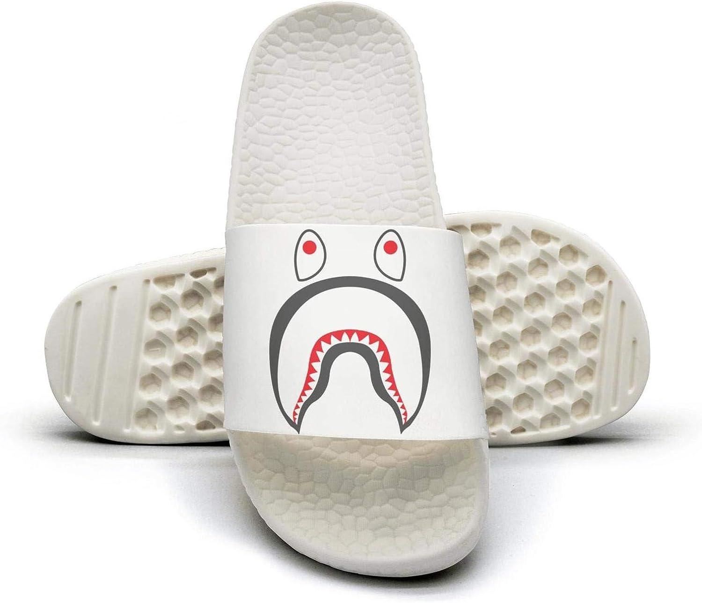 Men Slides Shoes Black American Eagle Slippers Classic Sandals