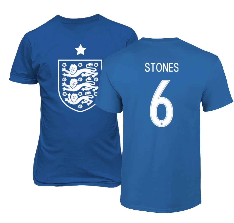 new arrivals af404 d6e91 Amazon.com: Tcamp England 2018 National Soccer #6 John ...
