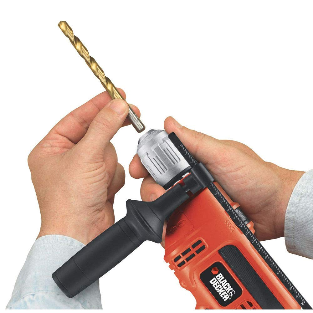 Black & Decker Power Tools DR670 6.5 Amp 1/2'' Corded VSR Hammer Drill