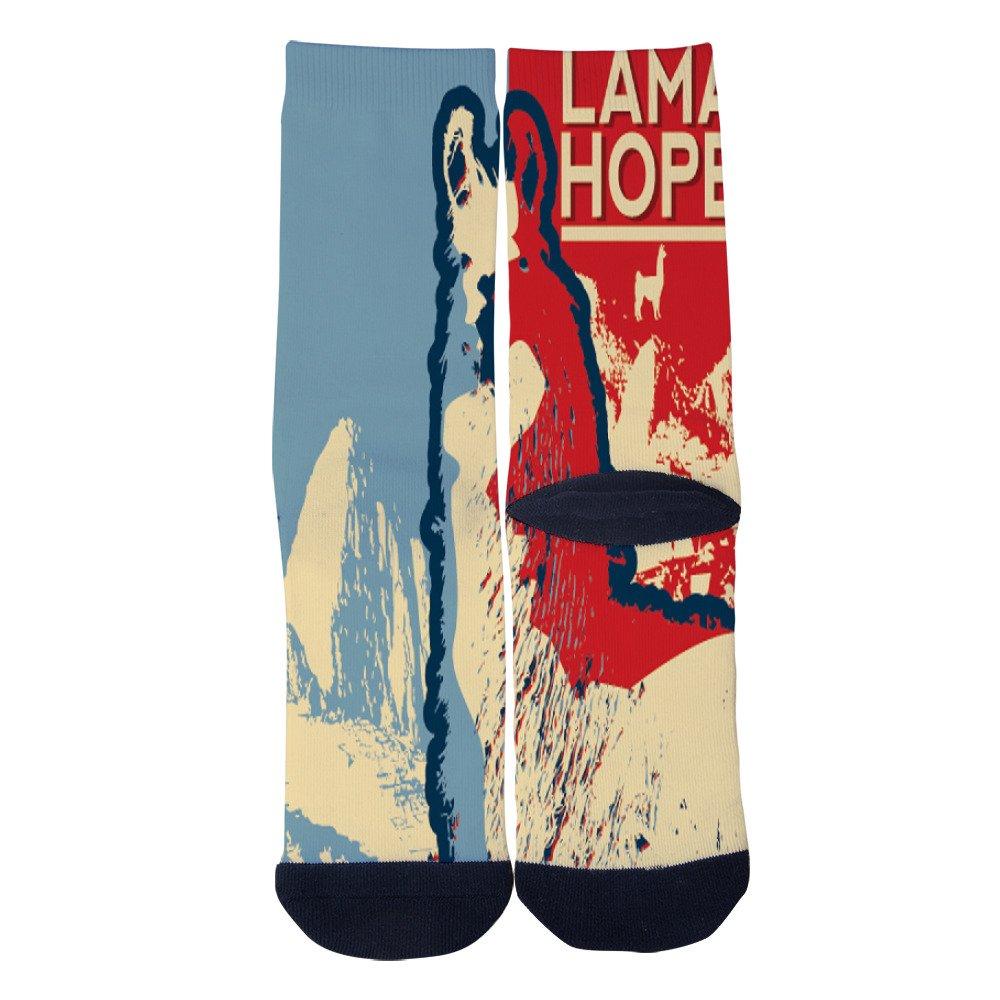 Knee High Long Stockings KCOSSH One Nation Under God Crazy Calf Socks Funny Crew Sock For Mens