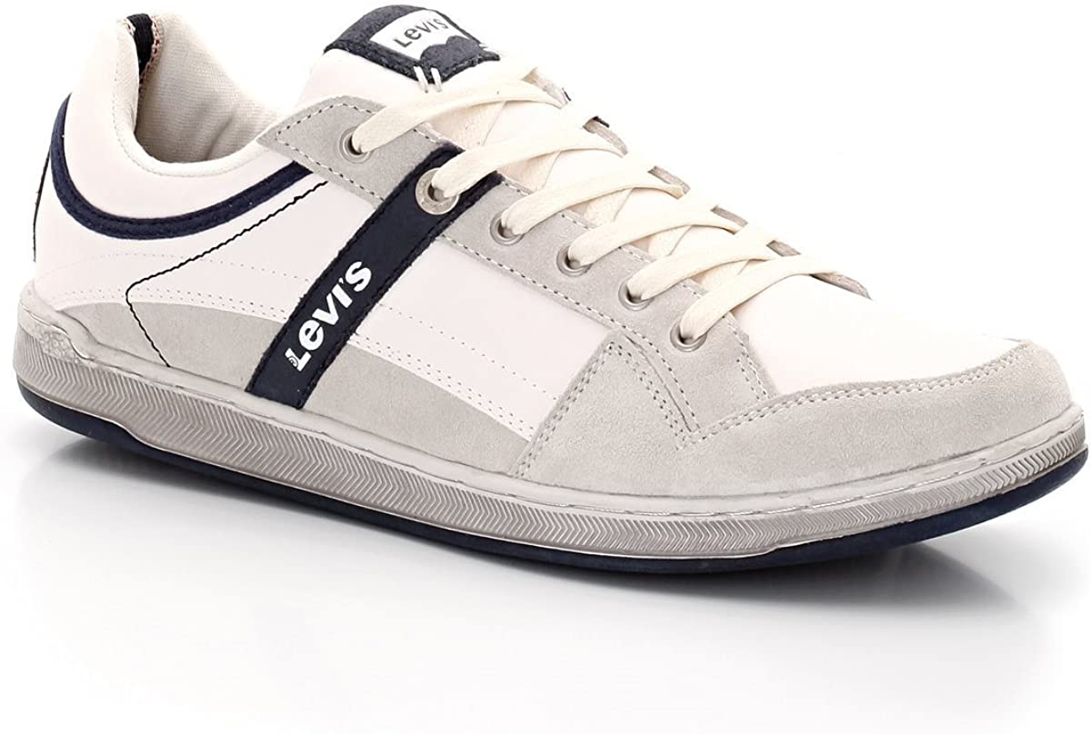 basket levis homme blanc,blanc toile pinole sneaker low