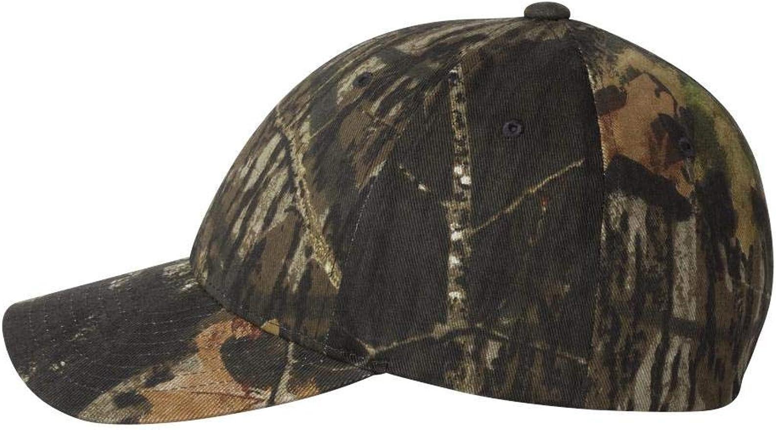 Flexfit Premium Original Blank Mossy Oak Stretch Mesh Trucker Cap Mossy Oak Breakup//Black