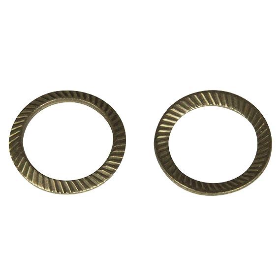 M10 - V2A - SC9024 SCHNORR/® rostfreier Edelstahl A2 - Schnorrscheiben S10 // Sicherungsscheiben SCHNORR-Sicherungsscheiben Form S 20 St/ück