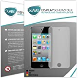 2 x Slabo Displayschutzfolie iPod Touch 4G | Touch 4 Displayschutz Schutzfolie Folie No Reflexion|Keine Reflektion Apple iPod Touch MADE IN GERMANY