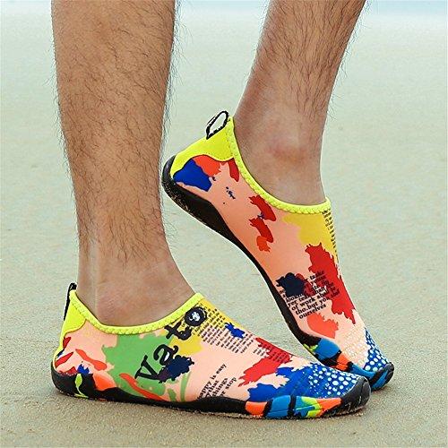 aire Ocio Pies Antideslizante playa Deportes en descalzos la Zapatos de de verano natación estilo buceo Zapatos Zapatos Set y al de SHINIK Shoes libre A Primavera Aqua nuevo RwPgqHO