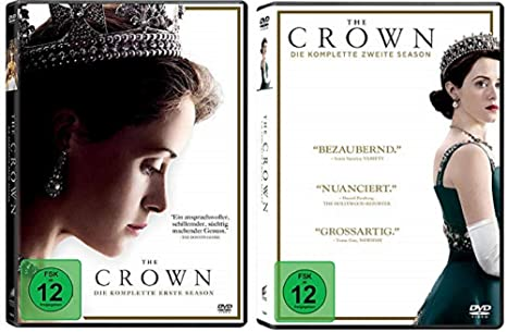 The Crown Staffel 1 2 Dvd Set Amazon De Claire Foy Matt Smith John Lithgow Dvd Blu Ray