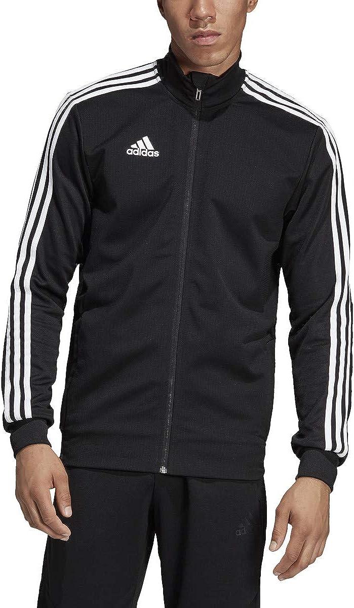 adidas Mens Tiro 19 Track Suit XL Jacket//XL Pants, Black//White