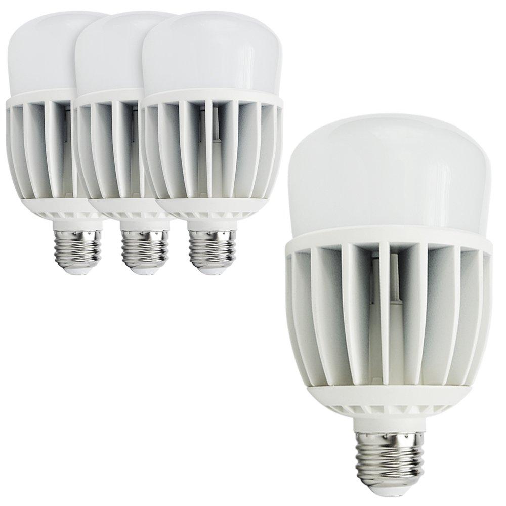eTopLighting 4 Pack, LED Flood Light Bulb, E26 Medium Base, Super Bright, Cool White Color, 5500K, 2650 Lumens, 30W(300W equivalent), V-VPL2104