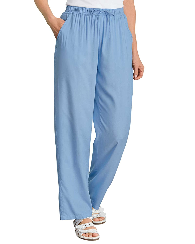 0e7971190927b National Drawstring Challis Pants at Amazon Women s Clothing store