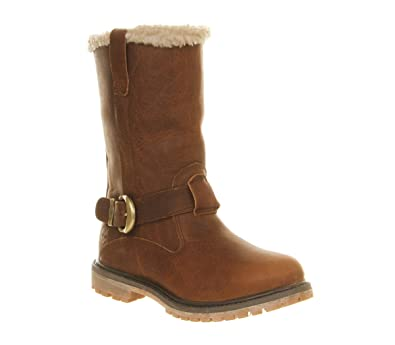 Timberland Nellie Pull On Boots Tobacco Forty Leather - 7 UK  Amazon.co.uk   Shoes   Bags 55631db24