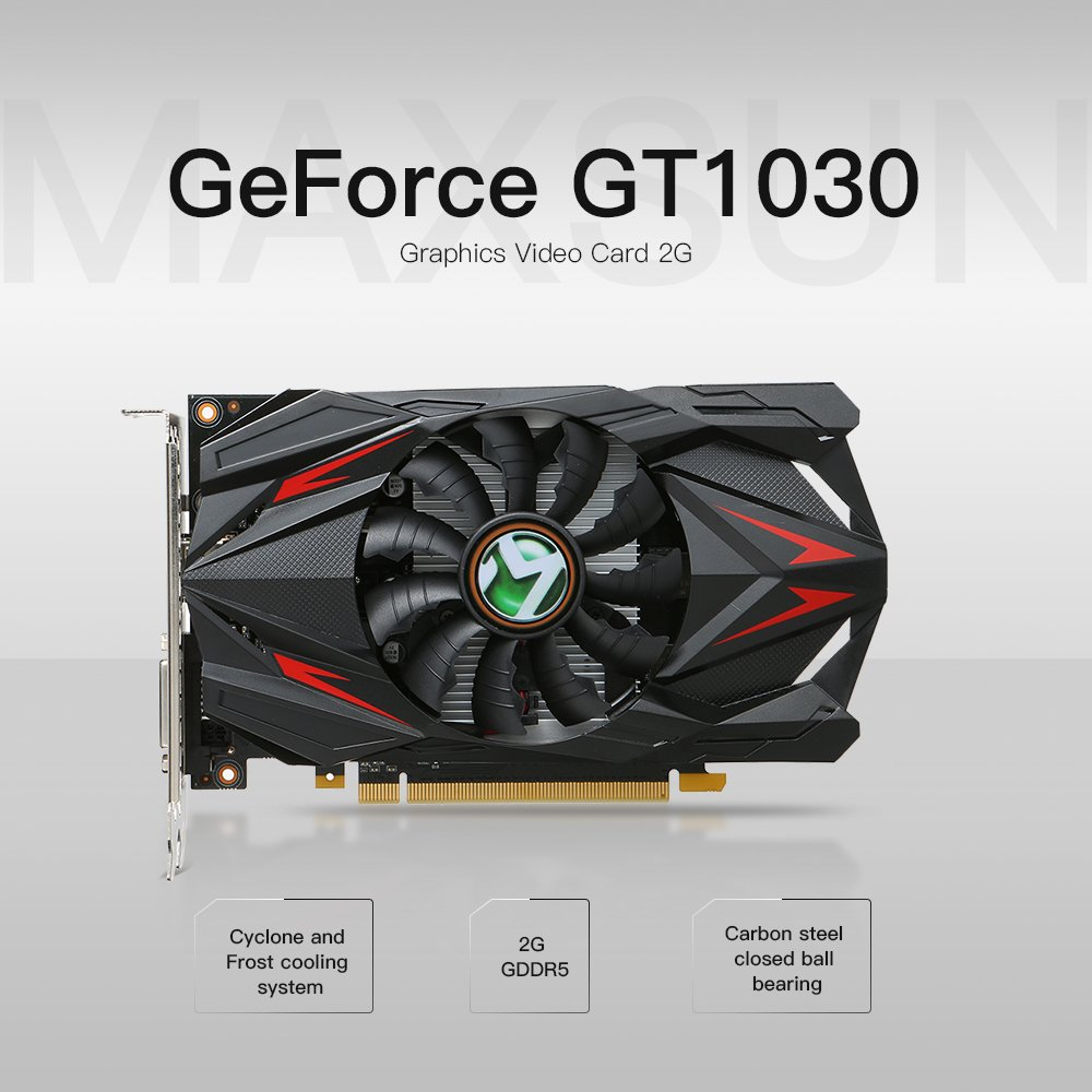Docooler MAXSUN GeForce GT1030: Amazon.es: Electrónica