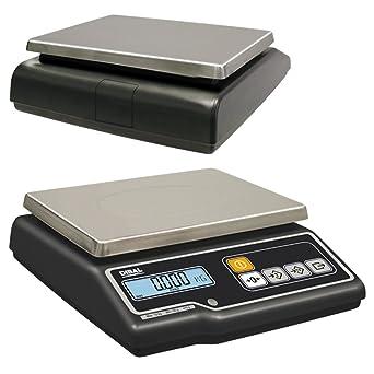balanza dibal g-300 plana solo peso homologada de 15Kg/5g.