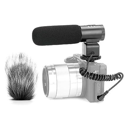 Meike MK-MP1 - Micrófono de audio para cámara réflex digital DV ...