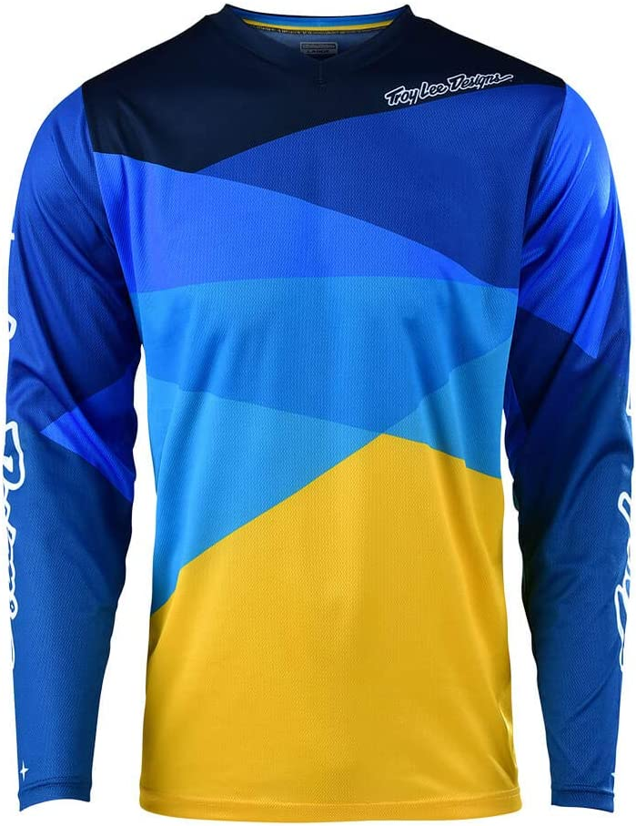 X-Large, Gray SE Air Jersey Beta Offroad Motocross Troy Lee Designs Adult