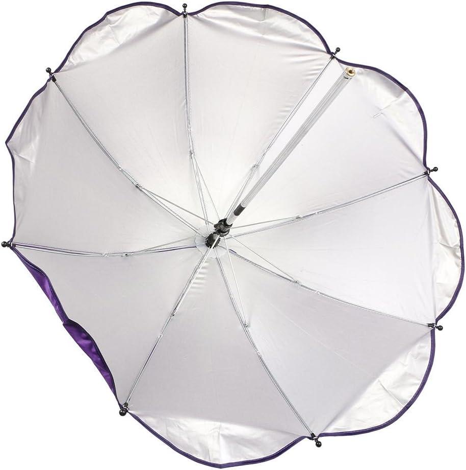 GGG B/éb/é Enfants Poussette Parasol Landau Ombrelle l/épreuve du vent Parapluie Bleu