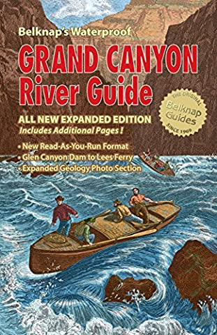 Belknap's Waterproof Grand Canyon River Guide All New Expanded Edition - Canyon Guide