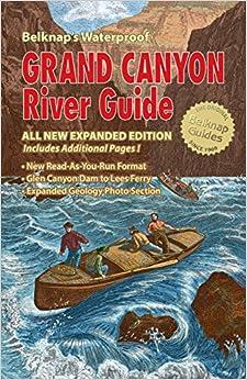 Belknap's Waterproof Grand Canyon River Guide 2020 edition