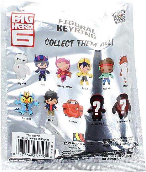 Wasabi No Ginger Disney Big Hero 6 Series Figural 2-Inch Key Chain