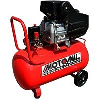 Motocompressor de Ar 8.8 Pés 50 Litros-MOTOMIL-MAN-10/50L