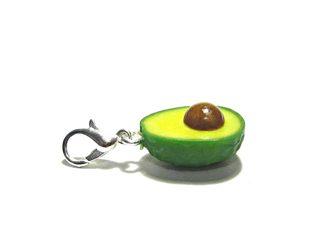 Avocados small lanyard with avocado charm