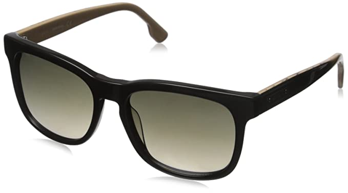 217e8c9769 Amazon.com  Diesel Men s Dl0151 Wayfarer Sunglasses Green 55 mm ...