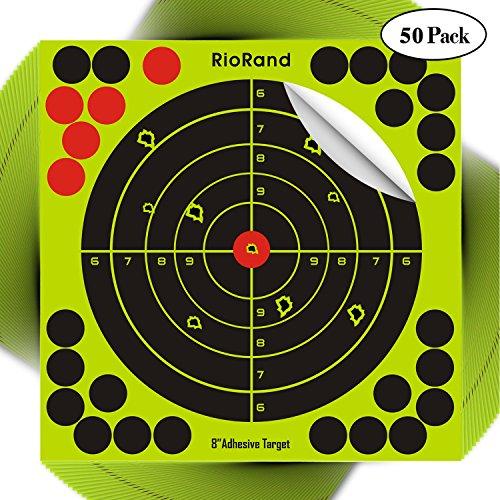 Shooting Splatter Targets 8 inch Self Adhesive Paper Reactiv
