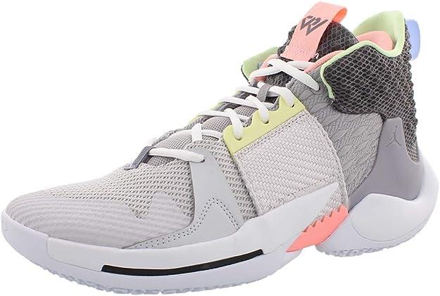 Nike - Zapatillas de baloncesto para hombre, (Gran Gris/Gunsmoke-atmósfera Gris/blanco), 51 EU: Amazon.es: Zapatos y complementos
