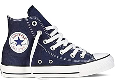 4a32232f39ca Image Unavailable. Image not available for. Color  Converse Chuck Taylor  All Star Classic High Top Sneakers - Navy US Men 6 ...