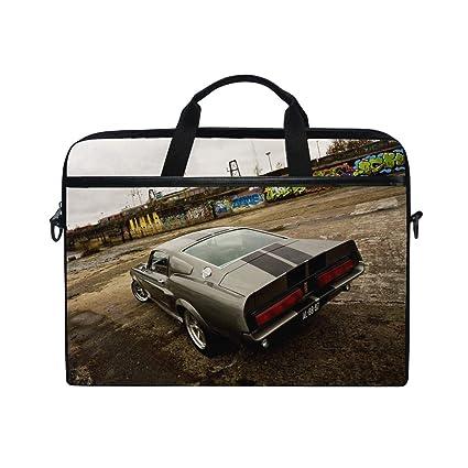 f618c7e84078 Amazon.com: Ford Shelby Eleanor Gt 500 Laptop Shoulder Messenger Bag ...