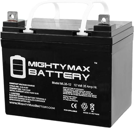 Mighty Max Battery ML35-12 SLA 4330198213 - Best Battery for Heavy-duty Mowers