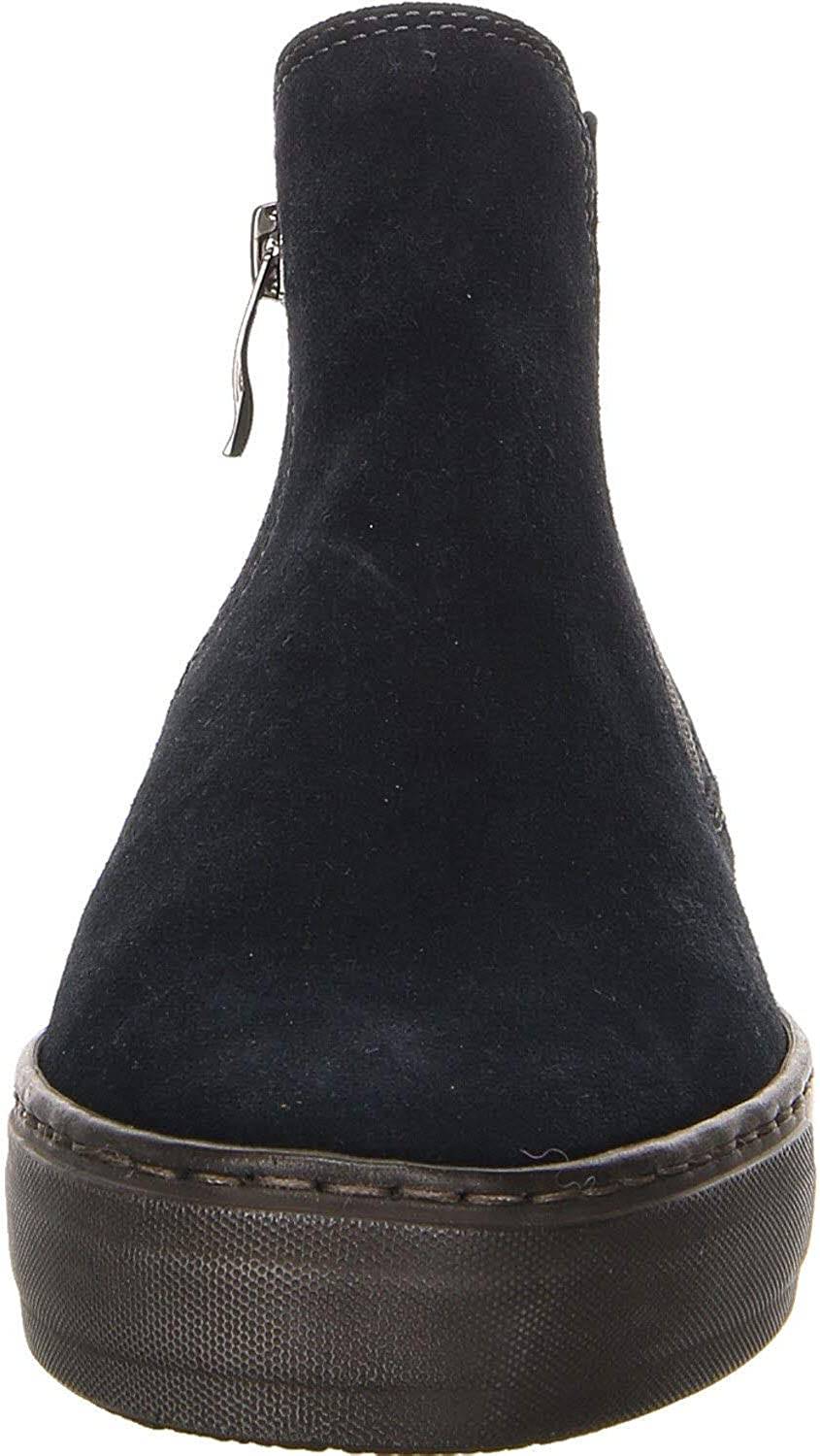 ARA 47485-62 Court Boot Wide FIT Navy Nubuck Womens Chelsea Boots Blue