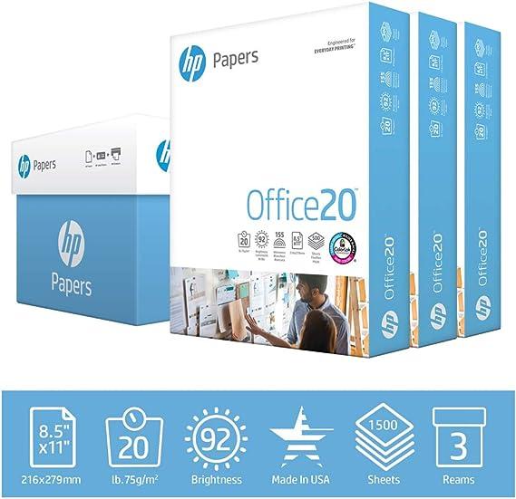 HP Printer Paper Office 20lb