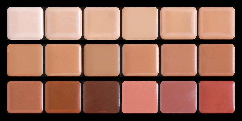 Cool HD Glamour Creme Foundation Super Palette
