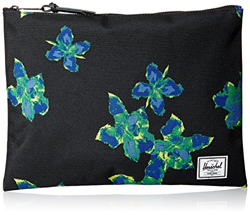 Mens Large Pouch - Herschel Supply Co. Men's Network Xl, Neon Floral, One Size