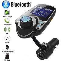handfly carregador para carro carregador USB adaptador de isqueiro para carro carregador sem fio Bluetooth FM…
