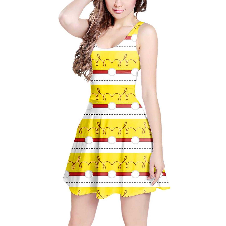 Cowgirl Jessie Sleeveless Dress XS-3XL Skater Stretch Flare Dress