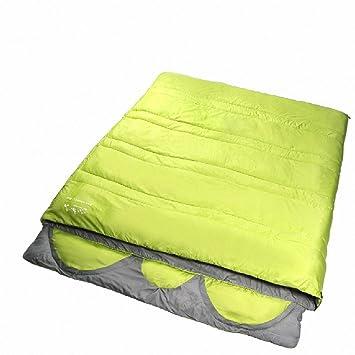 SUHAGN Saco de dormir Piscina Exterior Camping Camping Bolsas De Dormir En Tres Sobres Grandes De Algodón Tipo 4, 3 Verde Limón: Amazon.es: Deportes y aire ...