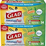 Best Glad Grocery Bags - Glad ForceFlex OdorShield Tall Kitchen Drawstring Trash Bags Review