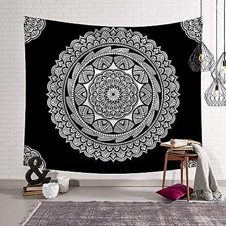 Tapisserie de mur indien Bohemian couvre-lit Hanging Mandala serviette de plage