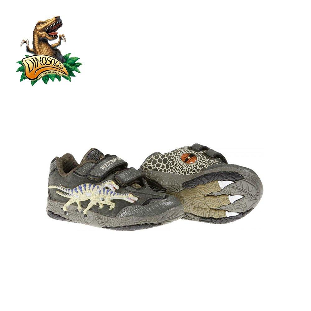 Dinosoles 3D Twin-Velociraptor Dinosaur LED Shoe (Children/Todder/Little Kid)