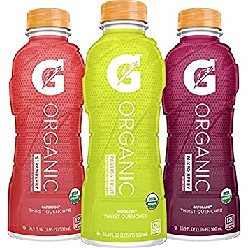 Amazon G Organic 3 Flavor Variety Pack Gatorade Sports Drink