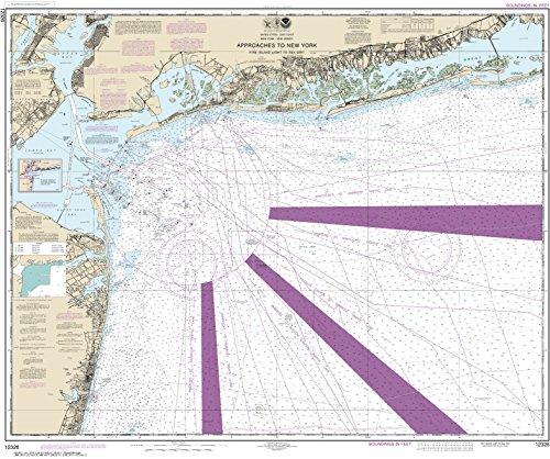 NOAA Chart 12326 Approaches to New York Fire lsland Light to Sea Girt: 34.99