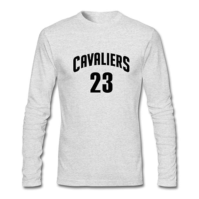 fb9b6fbe3 herveaud Custom para hombre Cleveland Cavaliers Lebron James 23 Camiseta De  Manga Larga  Amazon.es  Libros