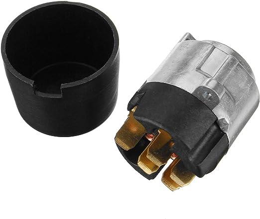 YONGYAO Ignition Lock Barrel Starter Switch Kit De Reemplazo Metal para Nissan Patrol