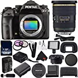Pentax K-1 DSLR Camera #19568 (International Model) + Pentax 16-50mm f/2.8 ED AL (IF) SDM Lens + D-LI90 Replacement Lithium Ion Battery + 128GB SDXC Class 10 Memory Card + Deluxe Cleaning Kit Bundle