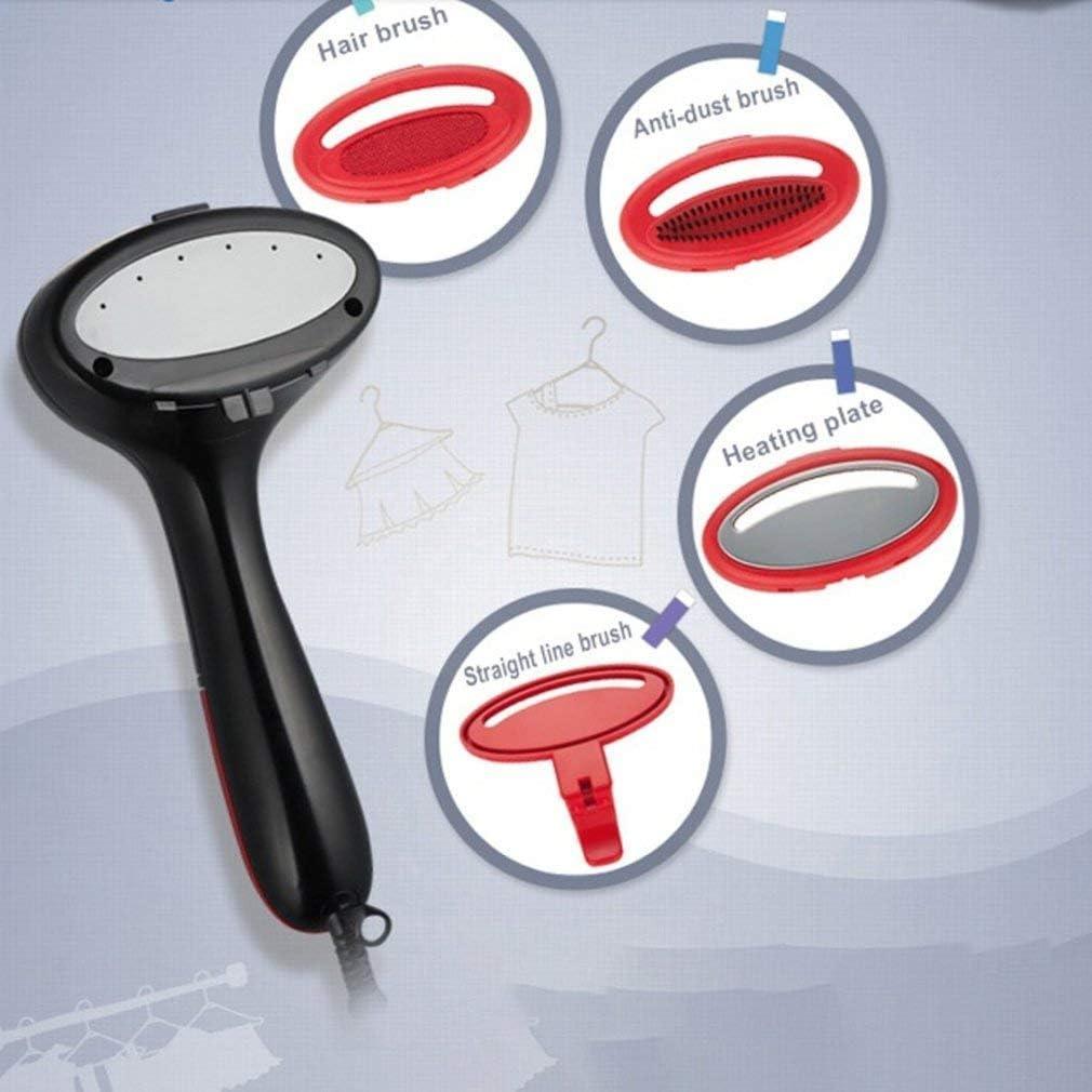 Liuchang Mini fer à repasser avec pendentif portable en fer à vapeur et petite brosse Rouge Noir Blanc - bleu Blanc - Bleu