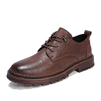6c478e7b9aed7a XHD-Chaussures Simple Mode Oxford Casual Simple Chaussures Ultra- Confortables et Confortables à Lacets