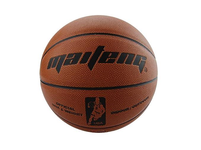 PhysCool - Balón de baloncesto (piel sintética, tamaño 5), diseño ...