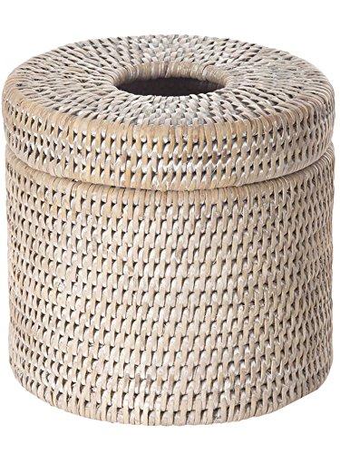 La Jolla Rattan Toilet Paper Roll Cover